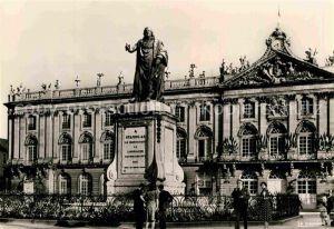 AK / Ansichtskarte Nancy Lothringen Hotel de Ville Statue Stanislas  Kat. Nancy