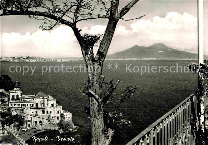 AK / Ansichtskarte Napoli Neapel Vesuvio  Kat. Napoli