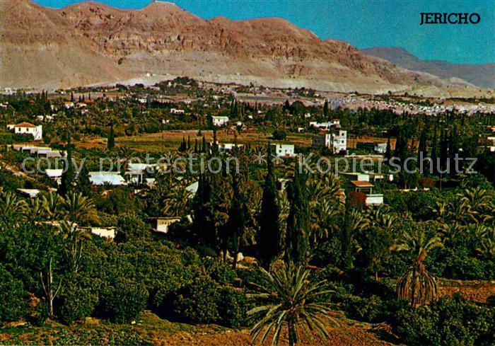 AK / Ansichtskarte Jericho Palaestina Jordan Valley Kat. Palaestinensische Autonomiegebiete