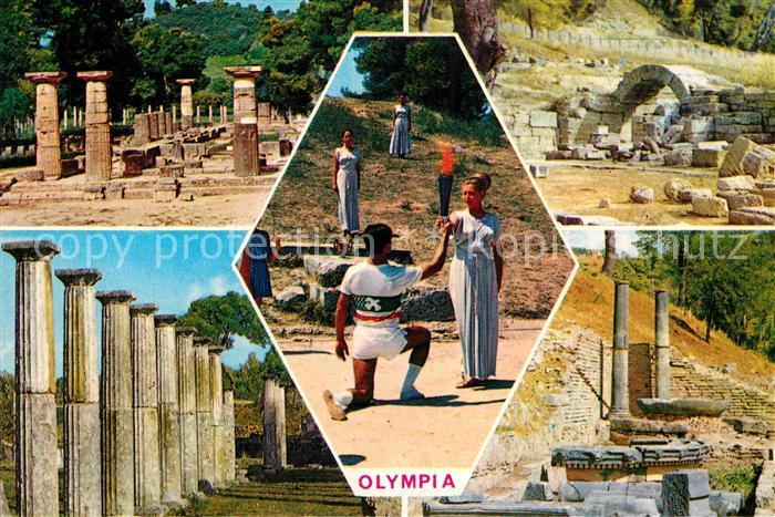 AK / Ansichtskarte Olympia Griechenland  Kat. Griechenland