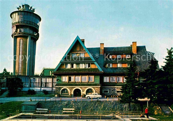 AK / Ansichtskarte Orlickych Hor Tyrsova Chata na Suchem Vrchu Berghotel