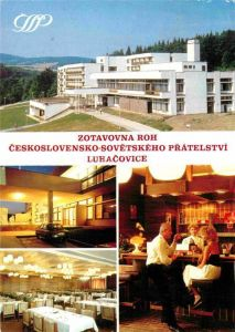 AK / Ansichtskarte Luhacovice Zotavovna ROH Ceskoslovensko Sovetskeho Pratelstvi Erholungsheim Bar Restaurant Kat. Tschechische Republik