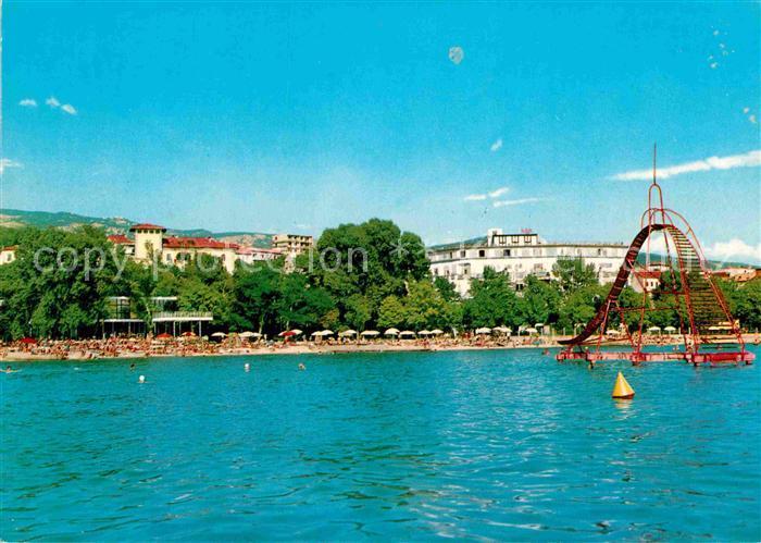 ak ansichtskarte crikvenica kroatien hotel miramare badestrand kat kroatien nr kb83331. Black Bedroom Furniture Sets. Home Design Ideas