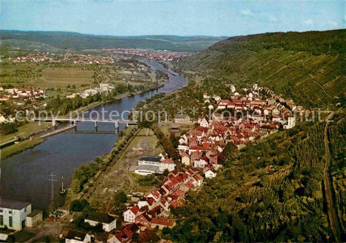 AK / Ansichtskarte Klingenberg Main Fliegeraufnahme Kat. Klingenberg a.Main