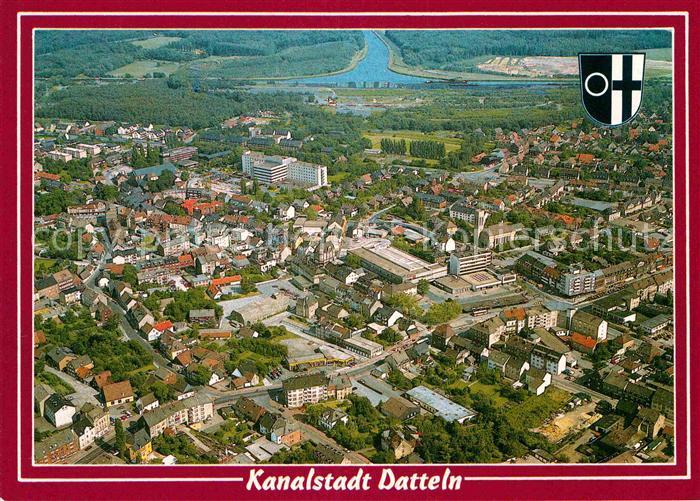 AK / Ansichtskarte Datteln Luftaufnahme Kat. Datteln