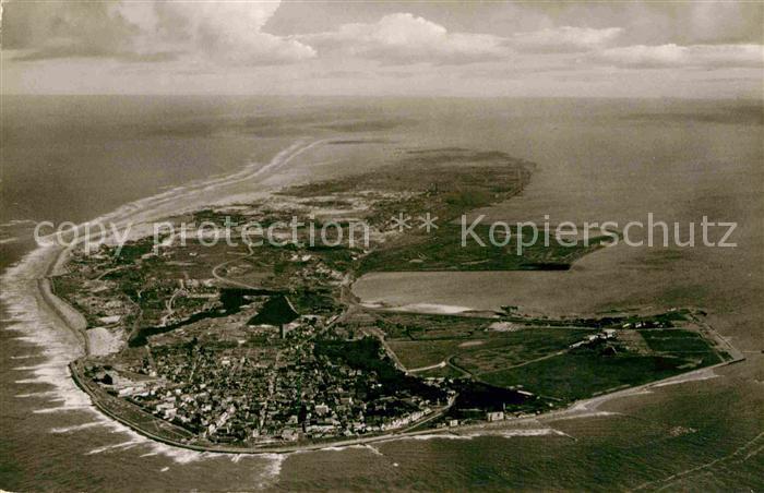 AK / Ansichtskarte Norderney Nordseebad Luftaufnahme Kat. Norderney