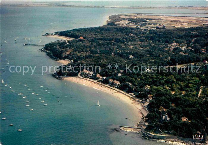 AK / Ansichtskarte Ile de Noirmoutier Plage des Souzeaux et la decoupe de la Cote vue aerienne Kat. Noirmoutier en l Ile