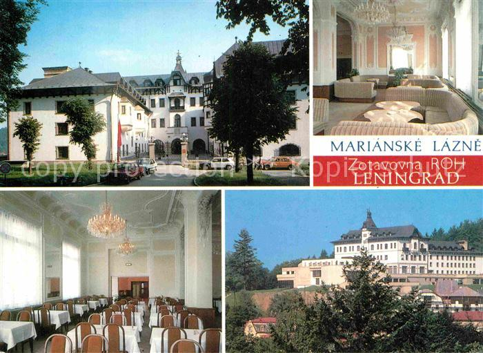 AK / Ansichtskarte Marianske Lazne Zotavovna ROH Leningrad Erholungsheim Kat. Marienbad
