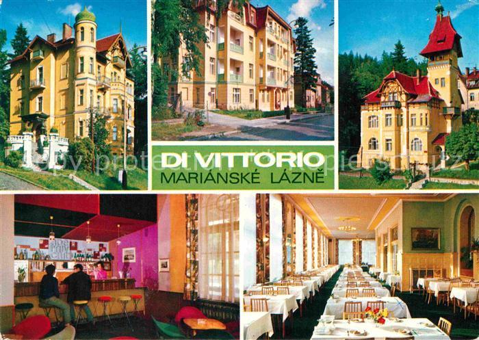 AK / Ansichtskarte Marianske Lazne Zotavovna ROH Di Vittorio Erholungsheim Kat. Marienbad