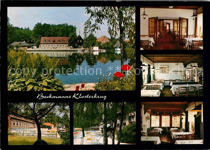 AK / Ansichtskarte Neukloster Niederelbe Hotel Restaurant Cafe Klosterkrug Restaurant Kat. Buxtehude