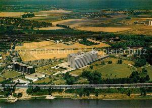 AK / Ansichtskarte Porz Koeln Krankenhaus Fliegeraufnahme Kat. Koeln