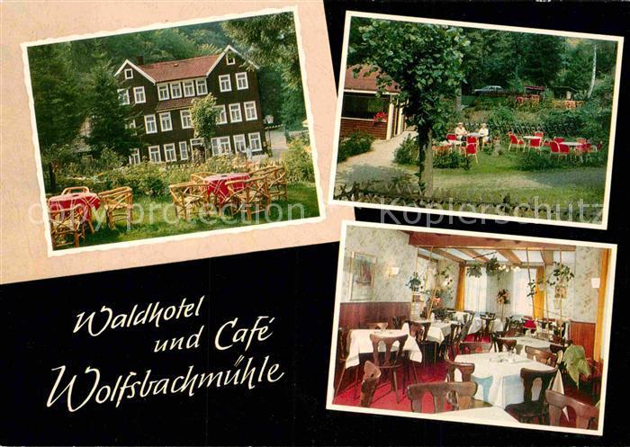 AK / Ansichtskarte Hohegeiss Harz Waldhotel Wolfsbachmuehle Kat. Braunlage