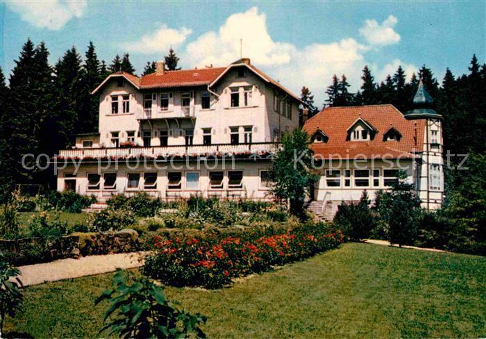 AK / Ansichtskarte Sachsa Harz Bad Genesungsheim Pfaffenberg Kat. Bad Sachsa