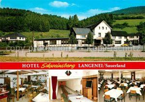 AK / Ansichtskarte Langenei Hotel Pension Schweinsberg Kat. Lennestadt