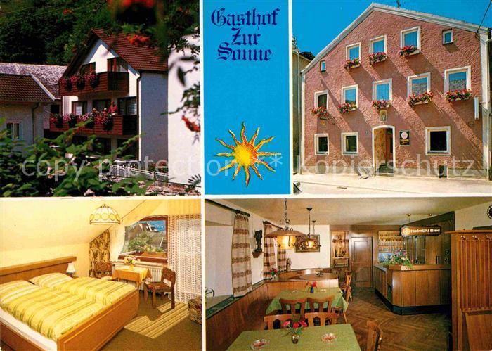 AK / Ansichtskarte Eichstaett Oberbayern Gasthof Zur Sonne Kat. Eichstaett