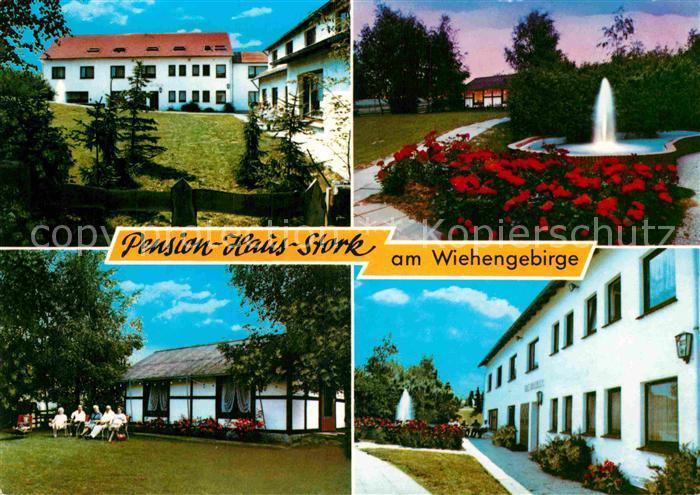 AK / Ansichtskarte Oldendorf Wiehengebirge Pension Haus Stork Kat. Melle