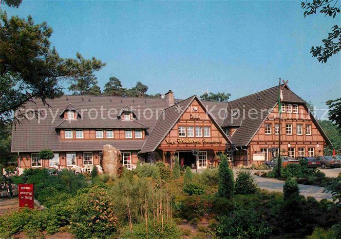 AK / Ansichtskarte Undeloh Hotel Cafe Restaurant Kat. Undeloh