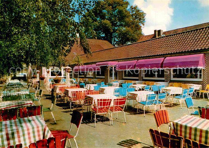 AK / Ansichtskarte Neukloster Niederelbe Restaurant Seeburg Terrasse  Kat. Buxtehude