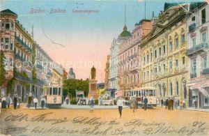 AK / Ansichtskarte Baden Baden Leopoldsplatz Kat. Baden Baden