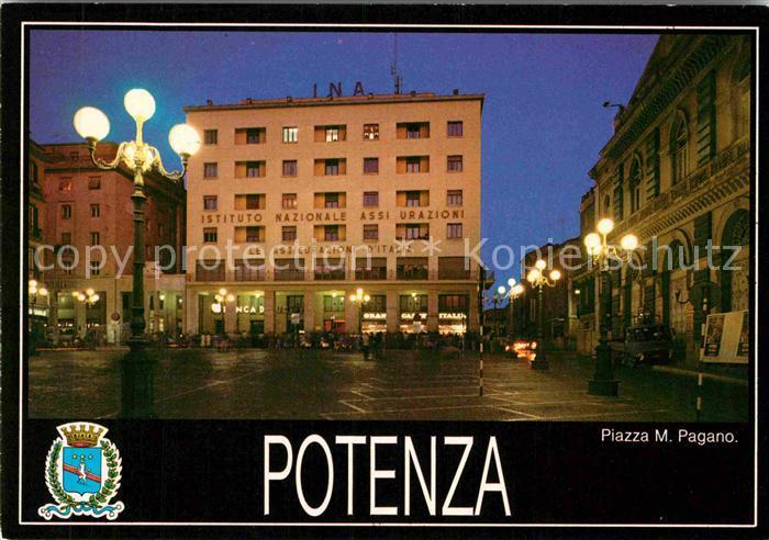 AK / Ansichtskarte Potenza Piazza Mario Pagano  Kat. Potenza