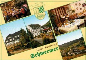 AK / Ansichtskarte Heinsberg Westfalen Hotel Restaurant Schwermer  Kat. Kirchhundem