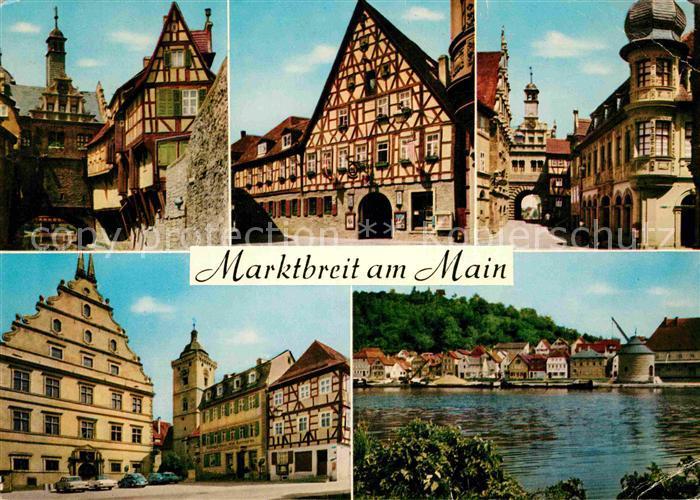 AK / Ansichtskarte Marktbreit Ortsansichten Kat. Marktbreit