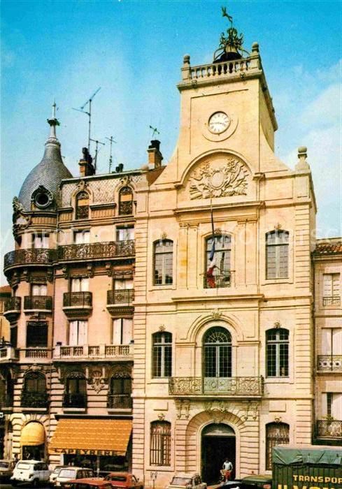 AK / Ansichtskarte Beziers La Tour de Hotel de Ville Kat. Beziers