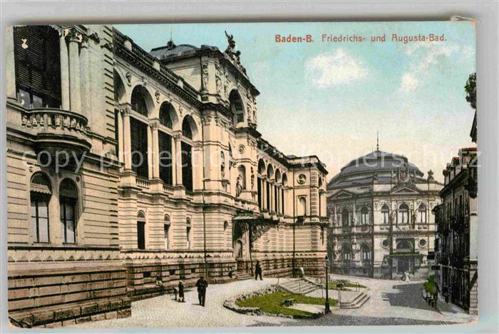 AK / Ansichtskarte Baden Baden Friedrichsbad Augustabad Kat. Baden Baden