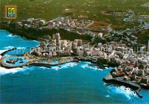 AK / Ansichtskarte Puerto de la Cruz Vista parcial aerea Kat. Puerto de la Cruz Tenerife