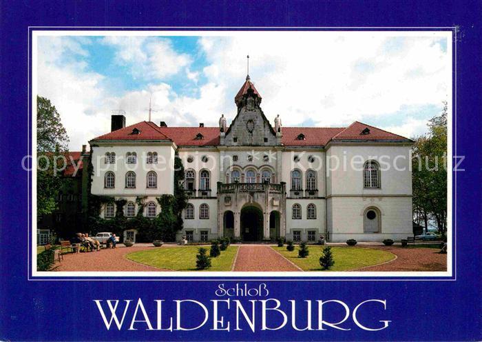 AK / Ansichtskarte Waldenburg Sachsen Schloss Kat. Waldenburg Sachsen