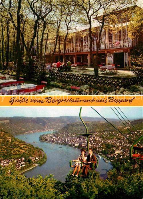 AK / Ansichtskarte Boppard Rhein Bergrestaurant Gedeonseck Kat. Boppard