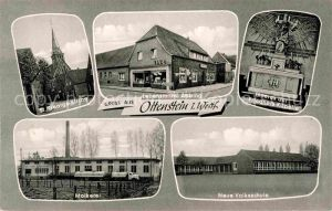 AK / Ansichtskarte Ottenstein Ahaus Kapelle Molkerei Georgs Kirche Volksschule