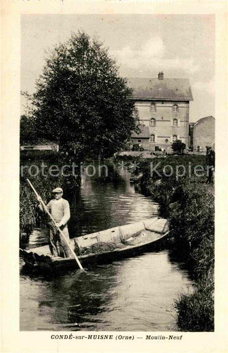 AK / Ansichtskarte Conde sur Huisne Neuf Moulin Fischer Kat. Conde sur Huisne