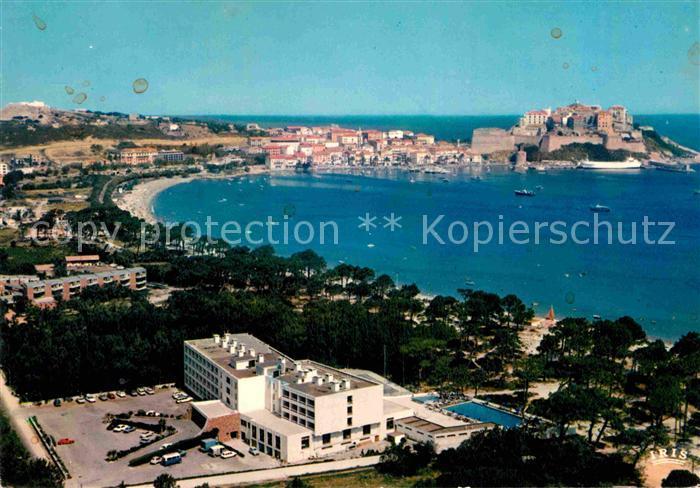 AK / Ansichtskarte Calvi Vue d ensemble de la station touristique Hotel Palm Beach au premier plan Kat. Calvi 0