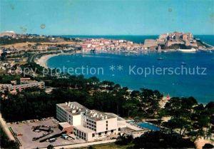 AK / Ansichtskarte Calvi Vue d ensemble de la station touristique Hotel Palm Beach au premier plan Kat. Calvi