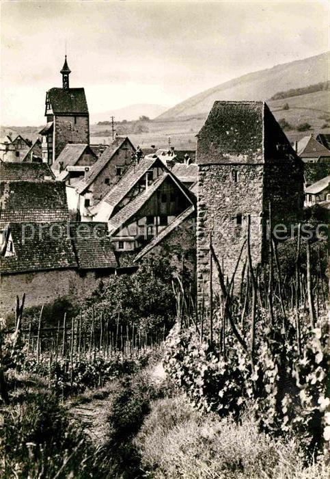 AK / Ansichtskarte Riquewihr Haut Rhin Vue generale des anciennes fortifications Kat. Riquewihr