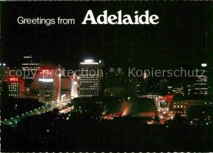 AK / Ansichtskarte Adelaide by night Kat. Adelaide