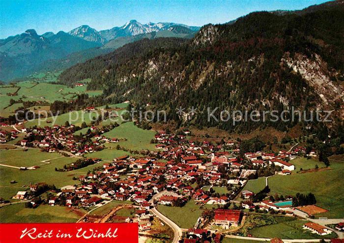 AK / Ansichtskarte Reit Winkl Fliegeraufnahme Kat. Reit im Winkl