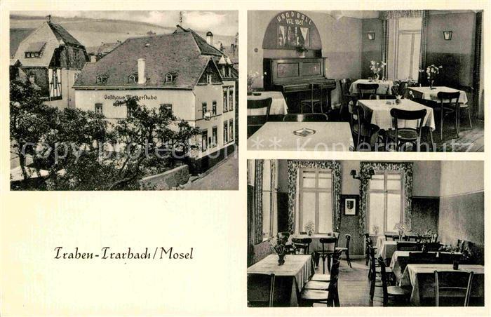 AK / Ansichtskarte Traben Trarbach Gasthaus zur Winzerstube Kat. Traben Trarbach