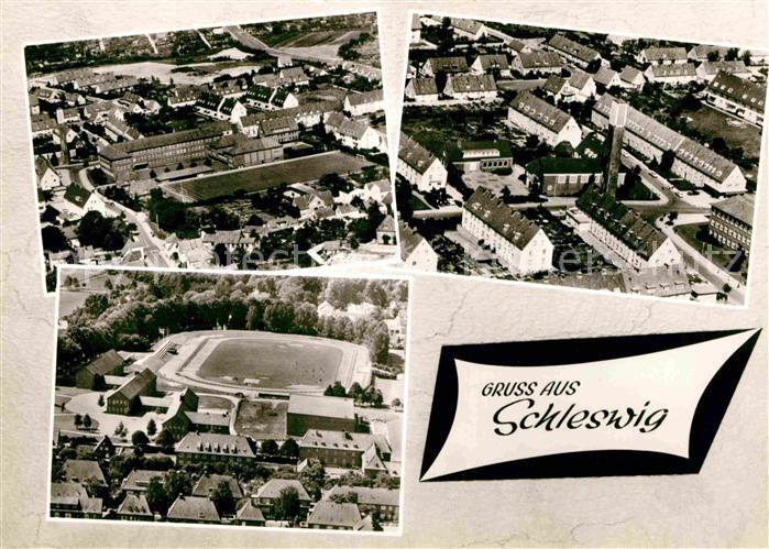 AK / Ansichtskarte Schleswig Holstein Fliegeraufnahme Kat. Schleswig