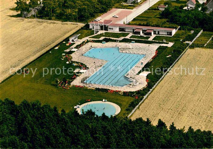 AK / Ansichtskarte Gnarrenburg Fliegeraufnahme Waldbad Kat. Gnarrenburg