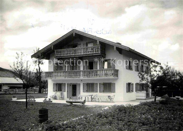 AK / Ansichtskarte Rottach Egern Haus Rauth Kat. Rottach Egern