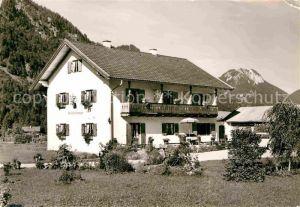 AK / Ansichtskarte Oberammergau Pension Am Hirschanger Kat. Oberammergau