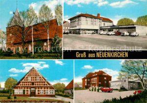 AK / Ansichtskarte Neuenkirchen Land Kirche Stadtansichten Kat. Neuenkirchen