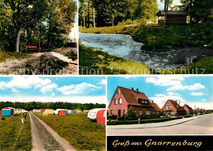 AK / Ansichtskarte Gnarrenburg Campingplatz Panoramen Kat. Gnarrenburg