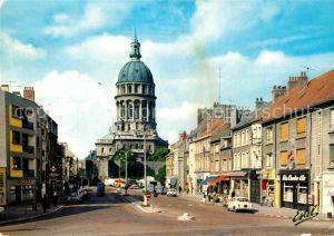 AK / Ansichtskarte Boulogne sur Mer La porte de Calais et la basilique Notre Dame Kat. Boulogne sur Mer