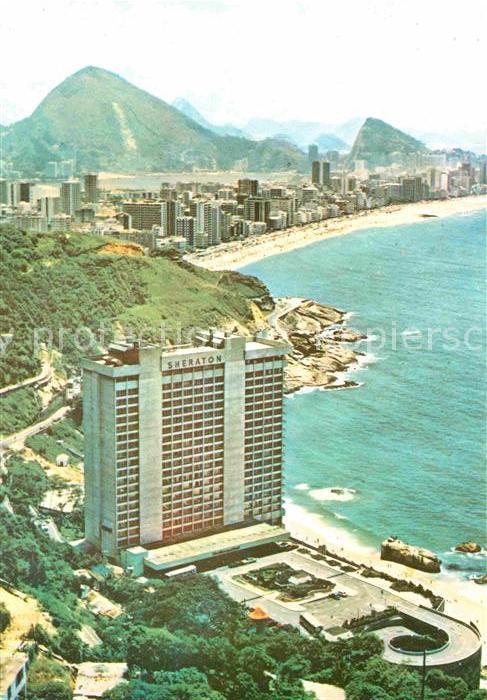 AK / Ansichtskarte Rio de Janeiro Rio Sheraton Hotel Kat. Rio de Janeiro