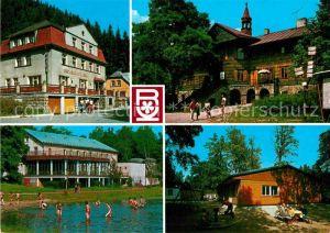 AK / Ansichtskarte Nachod Tschechien Restaurace Oblastni Podnik Hotel a restaurace Orlik v Teplickych skalach Kat. Nachod