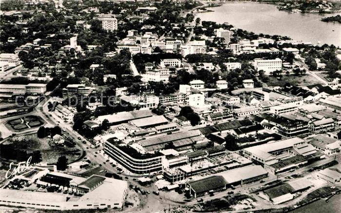 AK / Ansichtskarte Abidjan Fliegeraufnahme Kat. Abidjan