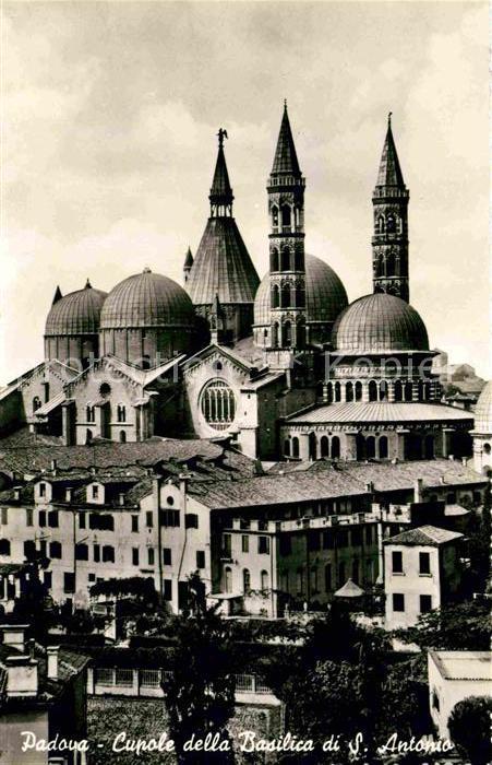 AK / Ansichtskarte Padova Cupole della Basilica di S. Antonio  Kat. Padova